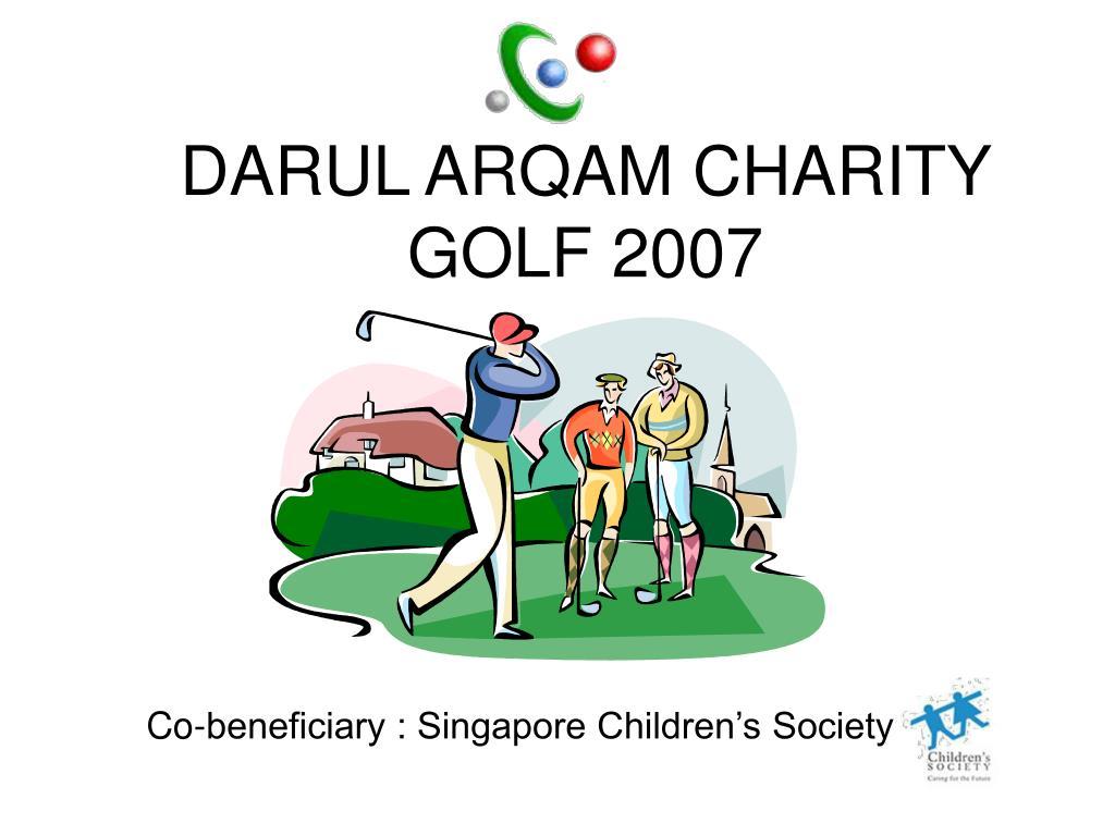 darul arqam charity golf 2007 l.