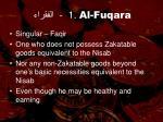 1 al fuqara