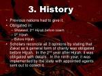 3 history