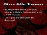 rikaz hidden treasures