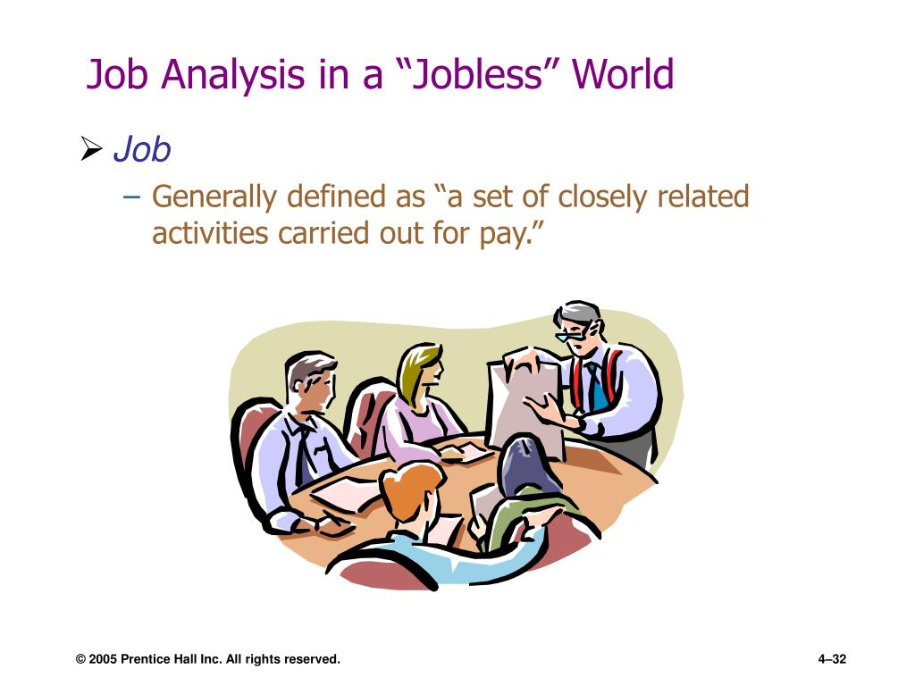"""Job Analysis in a """"Jobless"""" World"""