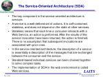 the service oriented architecture soa