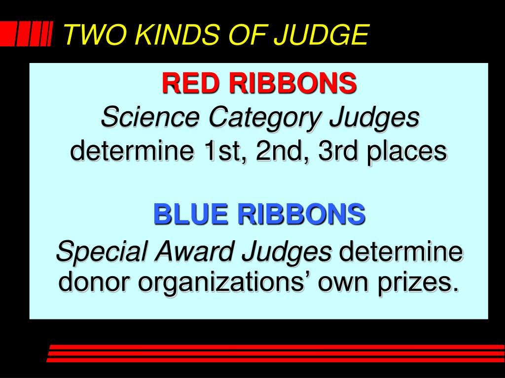 TWO KINDS OF JUDGE