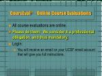courseval online course evaluations