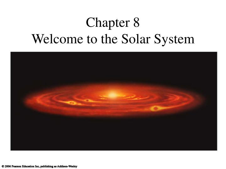 chapter 8 welcome to the solar system n.