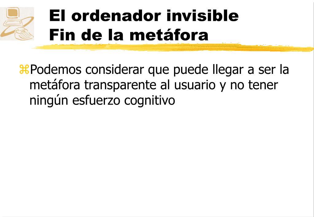 El ordenador invisible