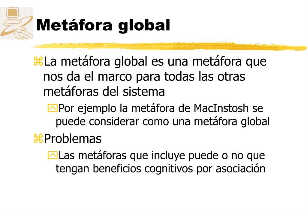 Metáfora global
