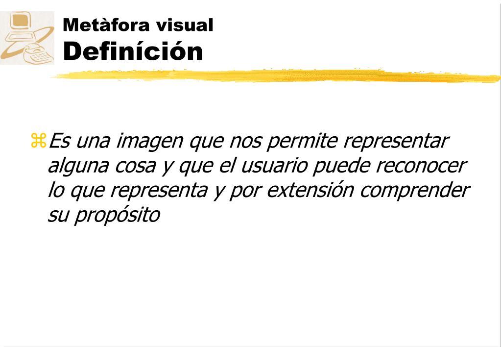 Metàfora visual