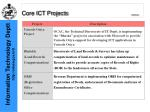 core ict projects continued7