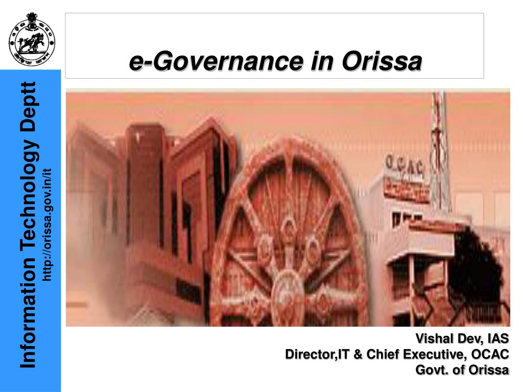 e governance in orissa l.