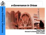 e governance in orissa