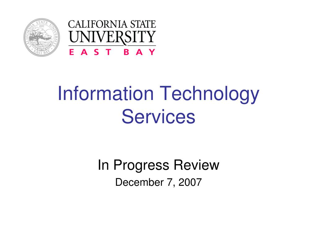 information technology services l.