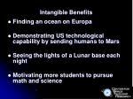 intangible benefits