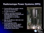radioisotope power systems rps