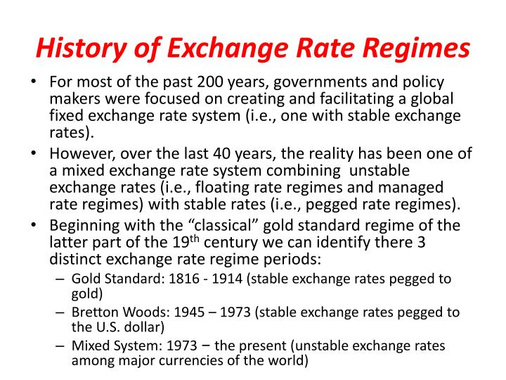 gold standard foreign exchange market Under the gold standard, each currency was convertible into gold at a specified rate, and the exchange rate between two currencies was determined by their relative convertibility rates per ounce of gold.