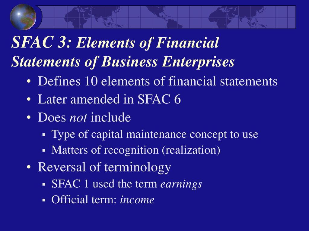 SFAC 3: