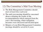 12 the committee s mid year meeting