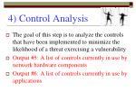 4 control analysis