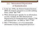 iso international organization of standardization
