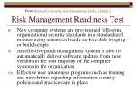 risk management readiness test175