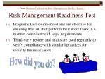 risk management readiness test178