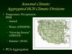 seasonal climate aggregated hcn climate divisions