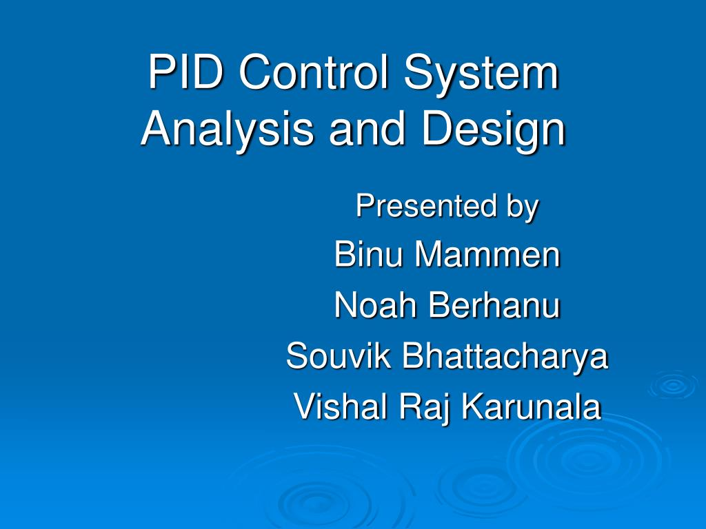 system analysis and design terms
