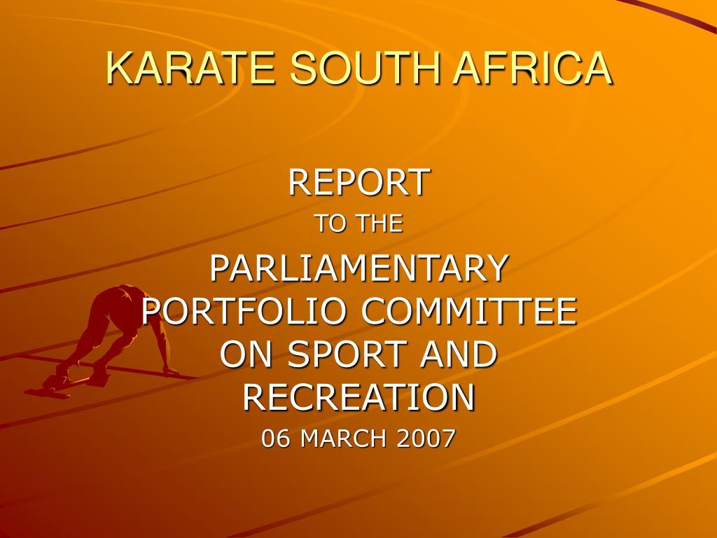 karate south africa l.