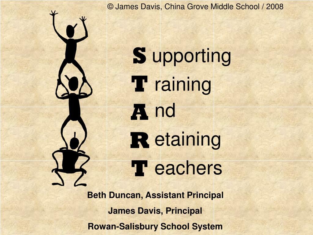 © James Davis, China Grove Middle School / 2008