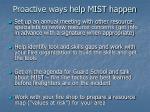 proactive ways help mist happen108