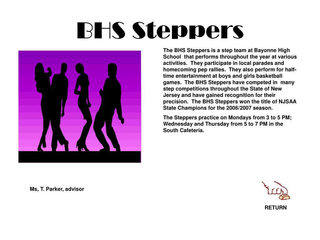 BHS Steppers
