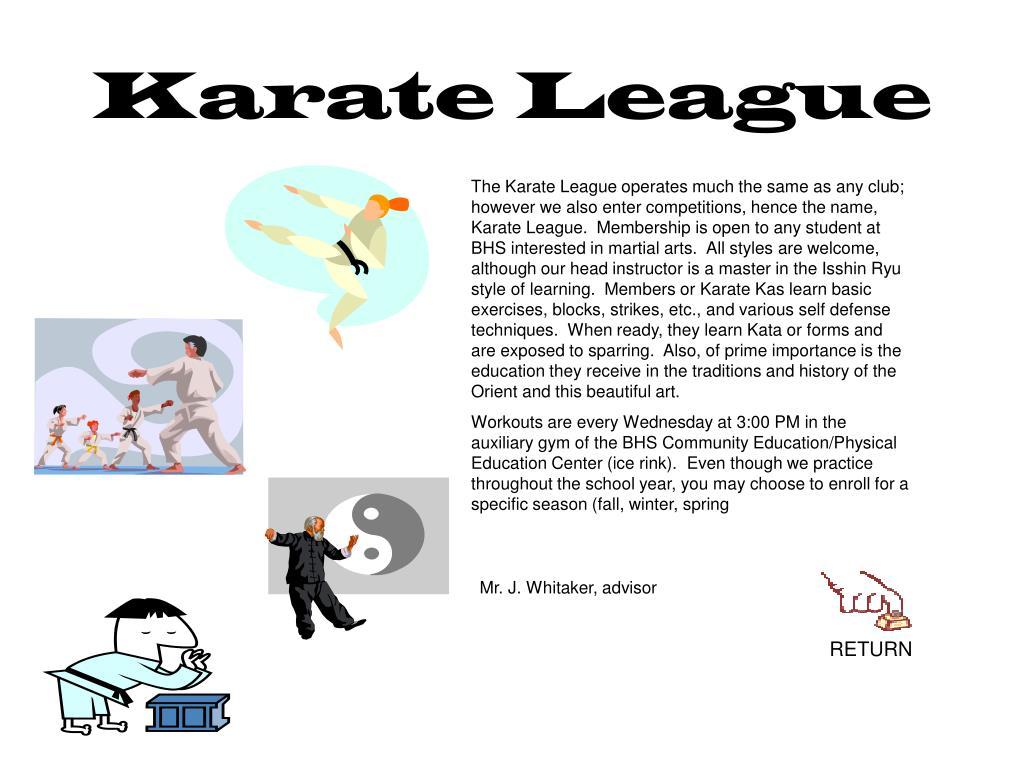 Karate League