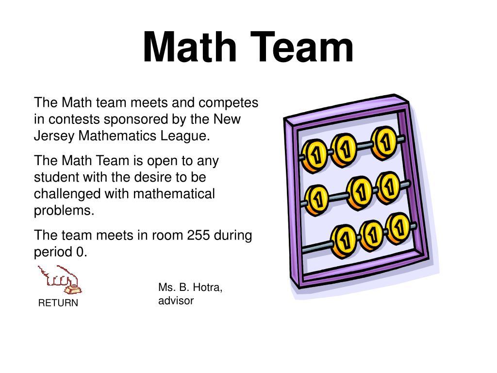 Math Team