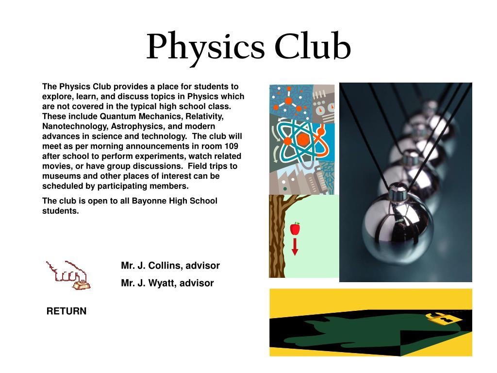 Physics Club