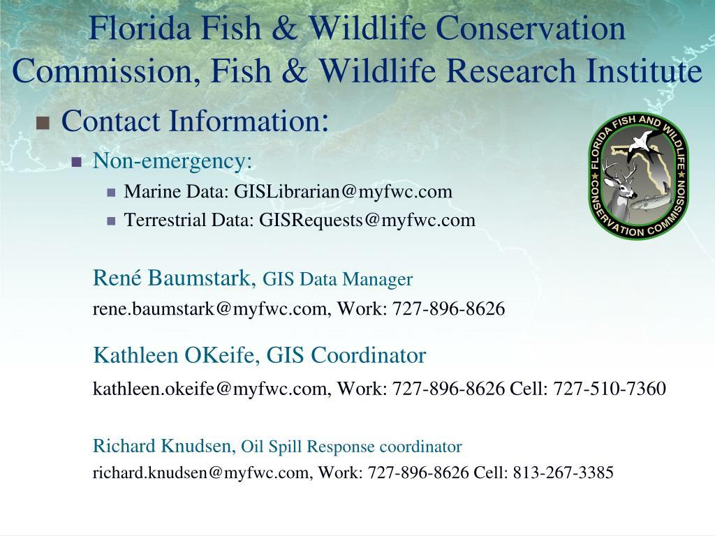 Florida Fish & Wildlife Conservation Commission, Fish & Wildlife Research Institute
