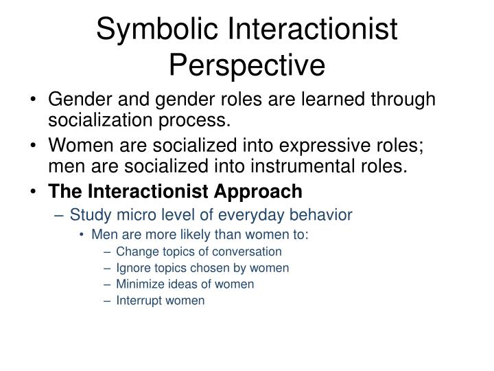 symbolic interactionist view of abortion By being made up of our thoughts self-belief, the social interactionism theory is  the purpose of all human interaction, and is.