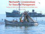 menhaden considerations for resource management