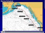 marine schedule