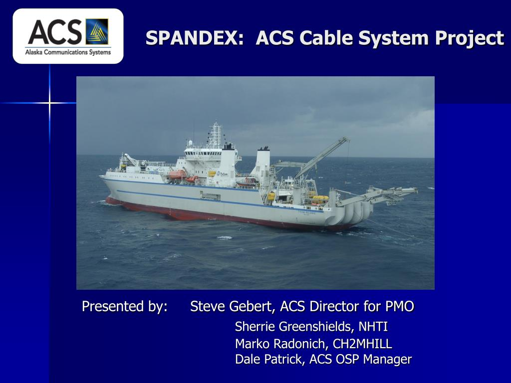 spandex acs cable system project l.