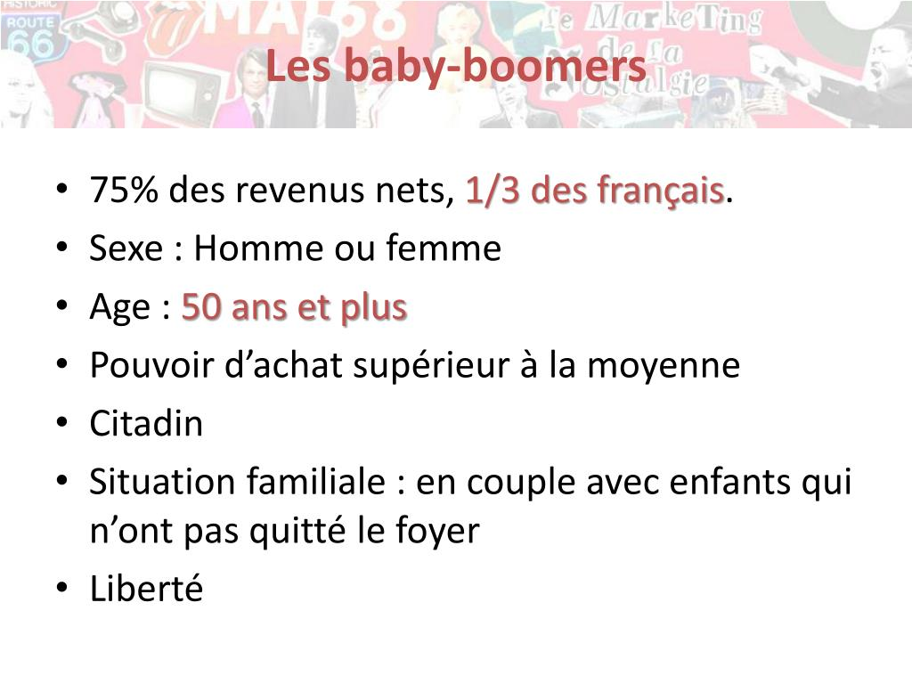Les baby-boomers