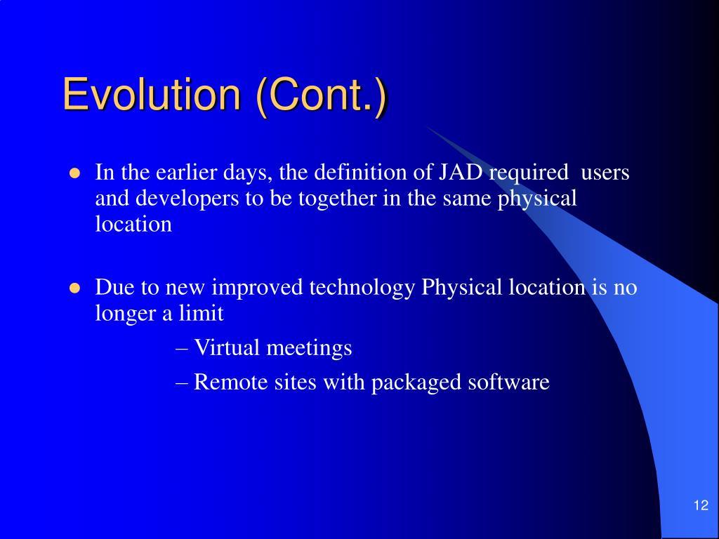 PPT - Joint Application Development PowerPoint Presentation