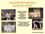 tarnowski klub sportowy kyokushin karate11