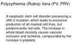 polycythemia rubra vera pv prv