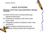 kasus statistika