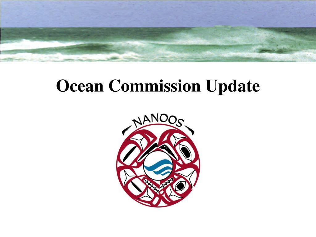 ocean commission update l.