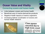 ocean value and vitality21
