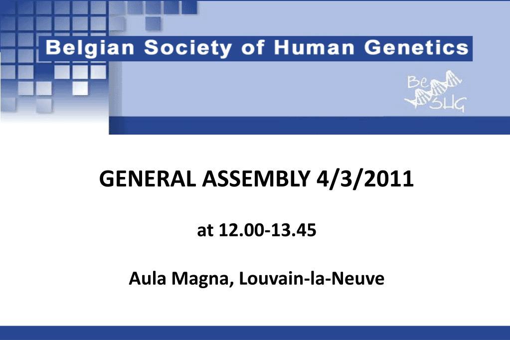 ASM General Meeting 2011 eBook