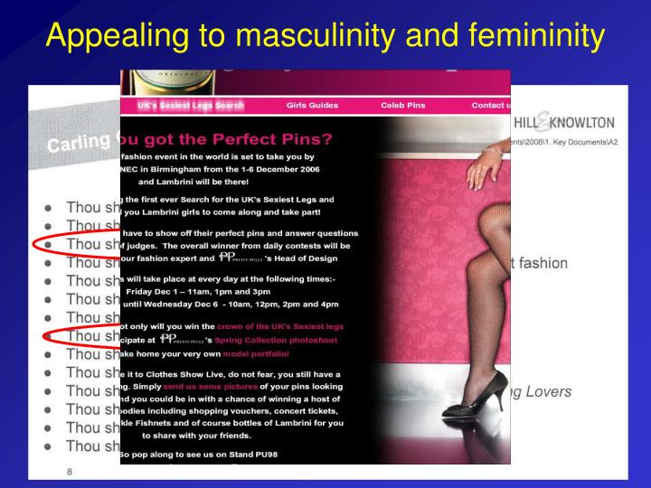 masculinity and feminity African femininity and masculinity by onitaset kumat the most perfect embrace a when we put femininity and masculinity into the context of matriarchy-rule of the.