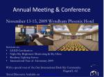 annual meeting conference