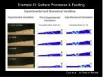 example iii surface processes faulting